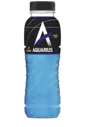 Aquarius Isotonic blue ice petfles 33cl