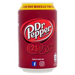Dr. Pepper Blik 33cl(BE)