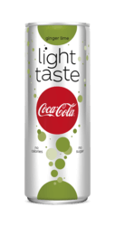 Coca Cola Light ginger lime blik smal 25cl