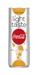 Coca Cola Light exotic mango blik smal 25cl