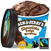 Ben & Jerry's Ijs chocolate fudge brownie 150ml